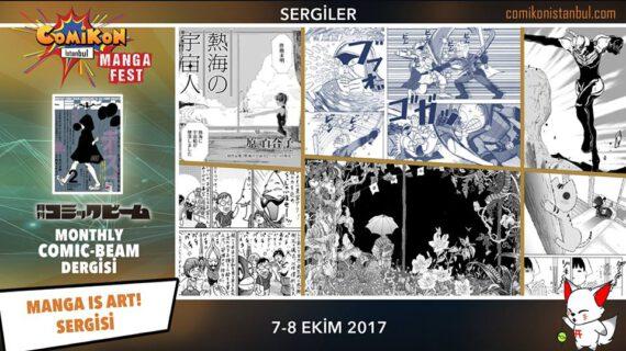 Manga is art by Comic Beam