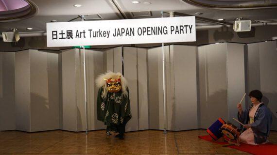 ArtTurkey JAPAN resepsiyon gosteri 01